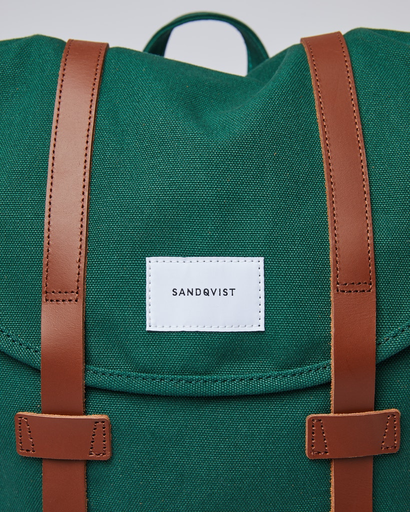 Sandqvist - Backpack - Green - STIG 1