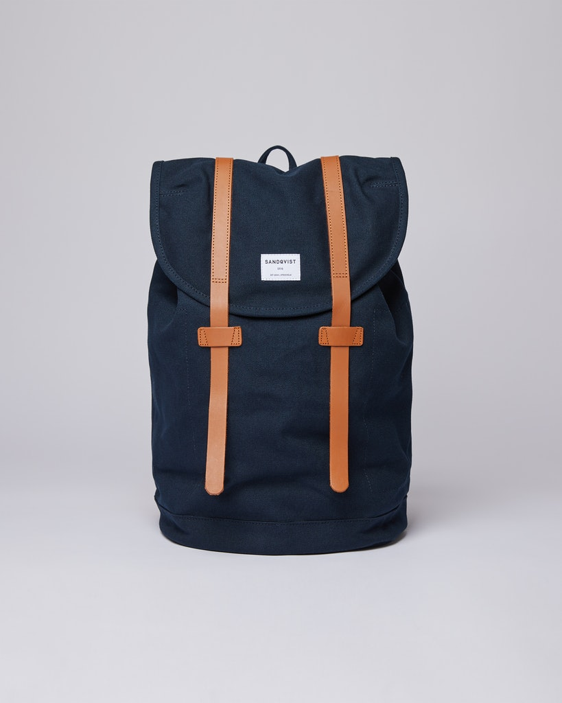 Sandqvist - Backpack - Blue - Stig Large