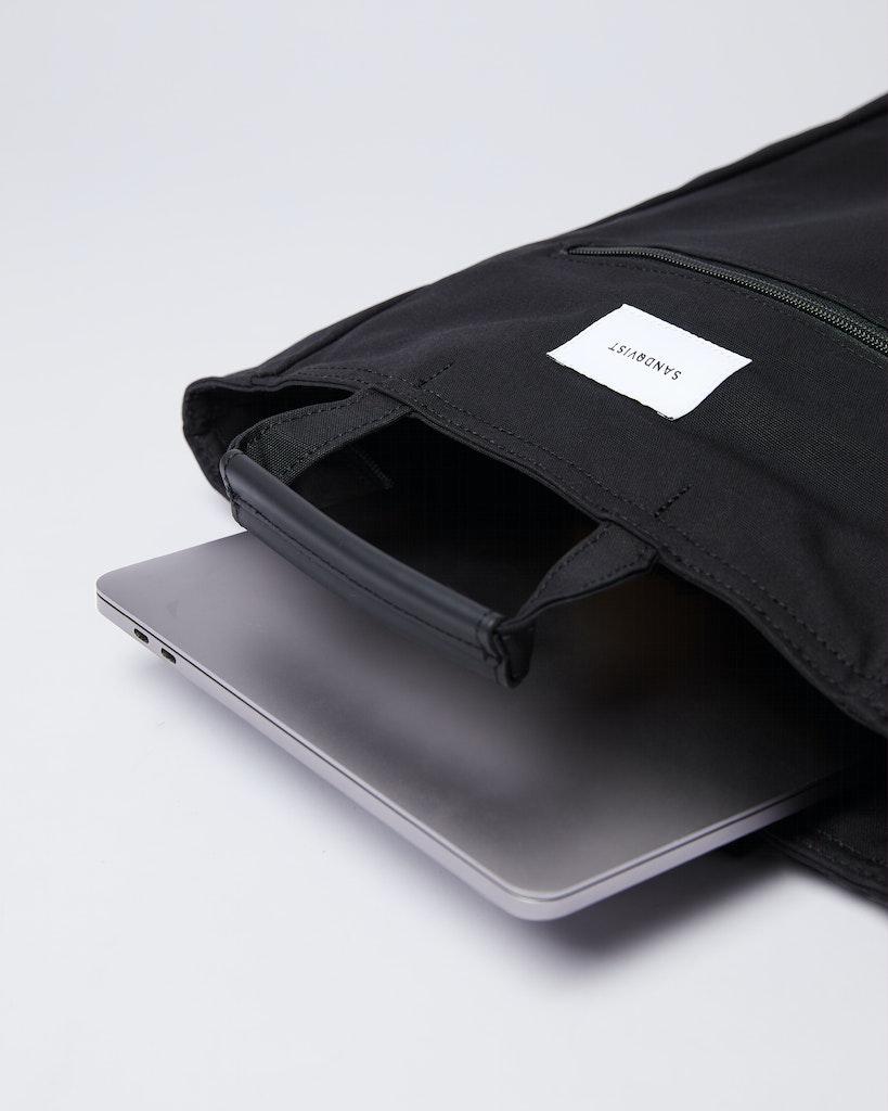 Sandqvist - Backpack - Black - TONY 3