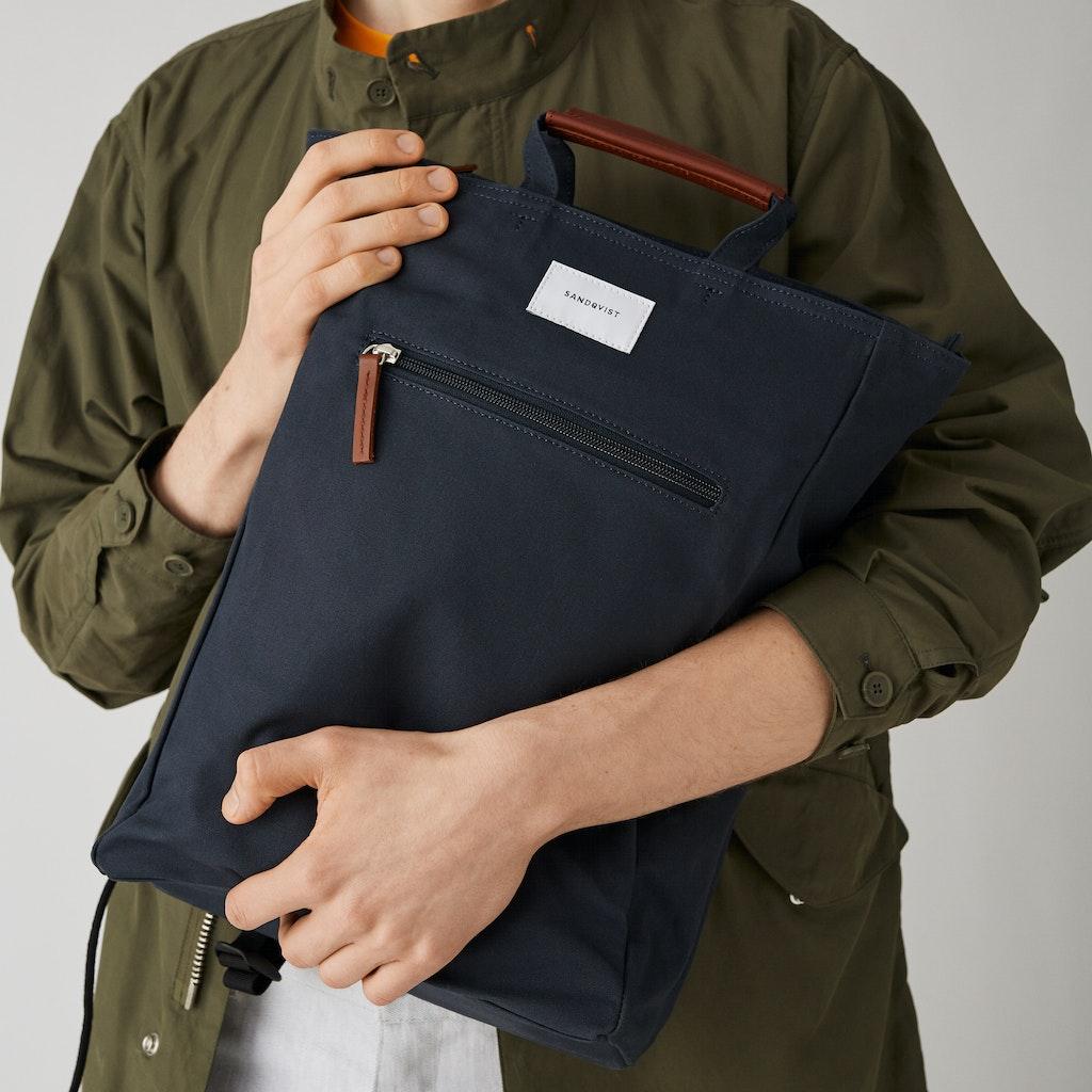 Sandqvist - Backpack - Navy - TONY 1