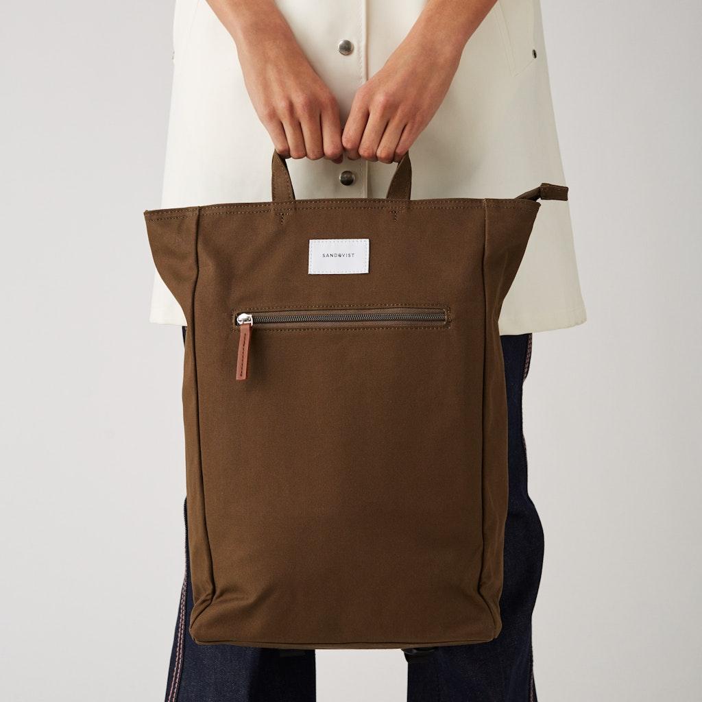 Sandqvist - Backpack - Green - TONY 2