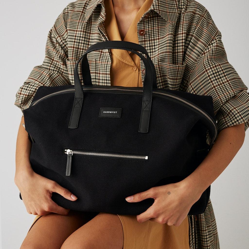 Sandqvist - Weekend Bag - Black - HOLLY 6