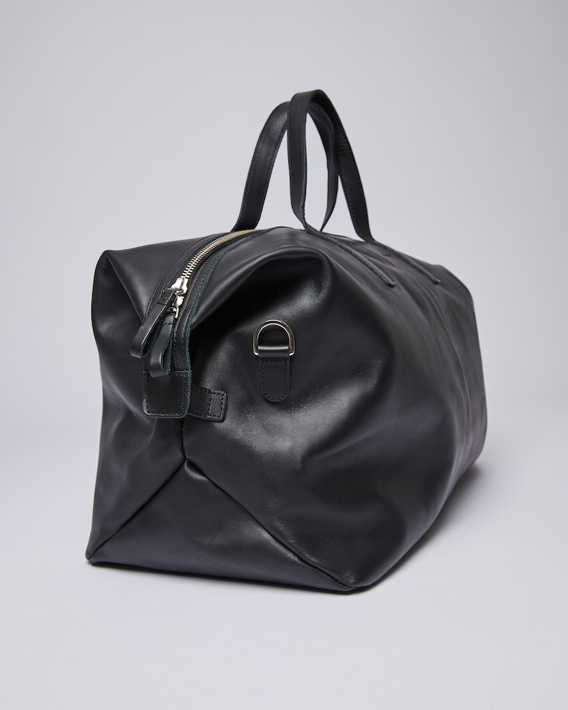 Sandqvist - Weekend Bag - Black - HOLLY LEATHER 3