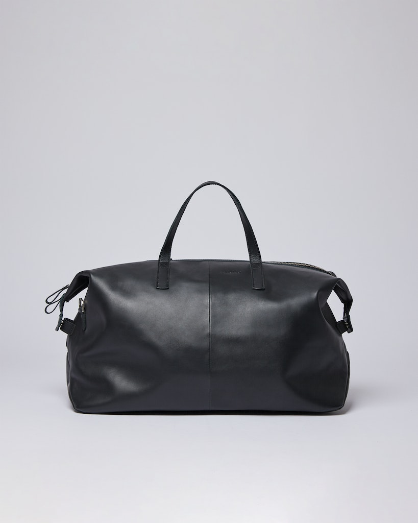 Sandqvist - Weekend Bag - Black - HOLLY LEATHER