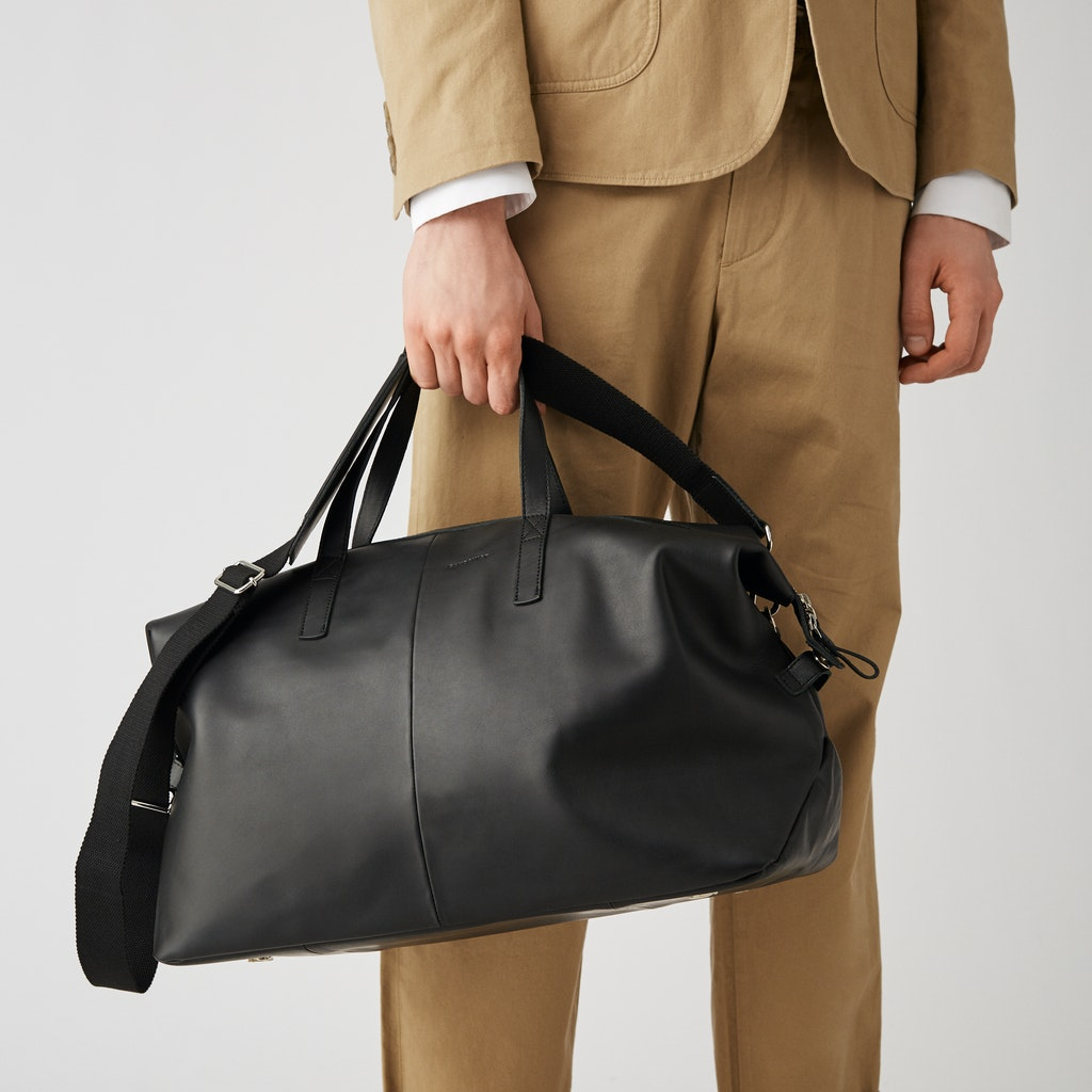 Sandqvist - Weekend Bag - Black - HOLLY LEATHER 6