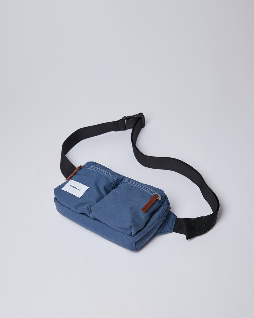 Sandqvist - Bum Bag - Blue - PAUL