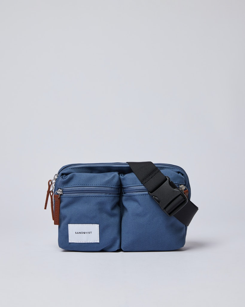 Sandqvist - Bum Bag - Blue - PAUL 4