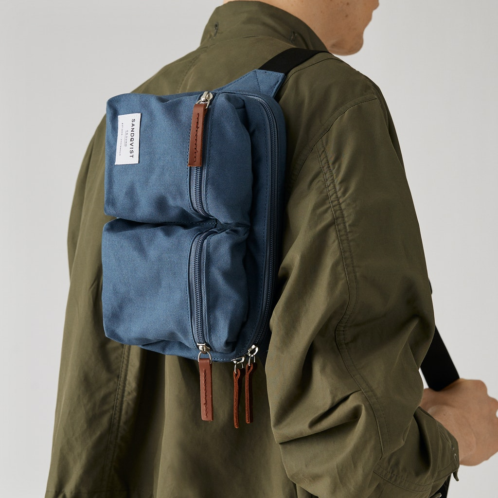 Sandqvist - Bum Bag - Blue - PAUL 2