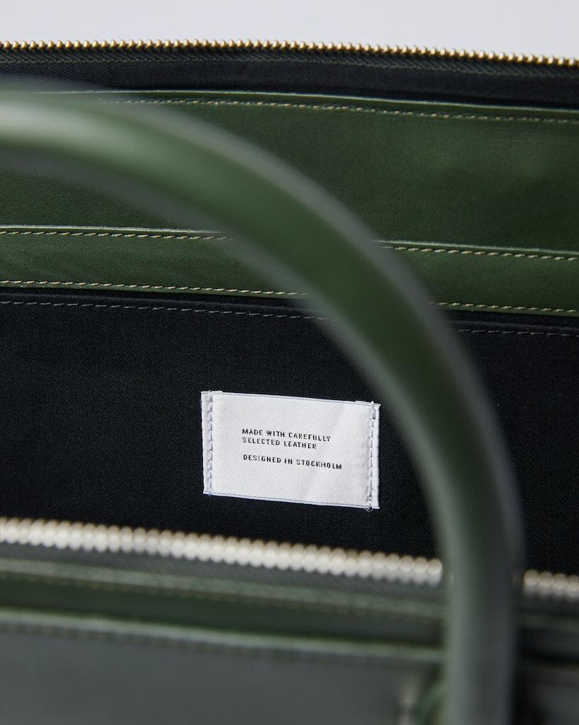 Sandqvist - Briefcase - Green - MYRTEL 4