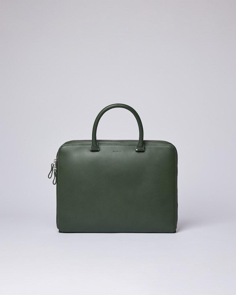 Sandqvist - Briefcase - Green - MYRTEL