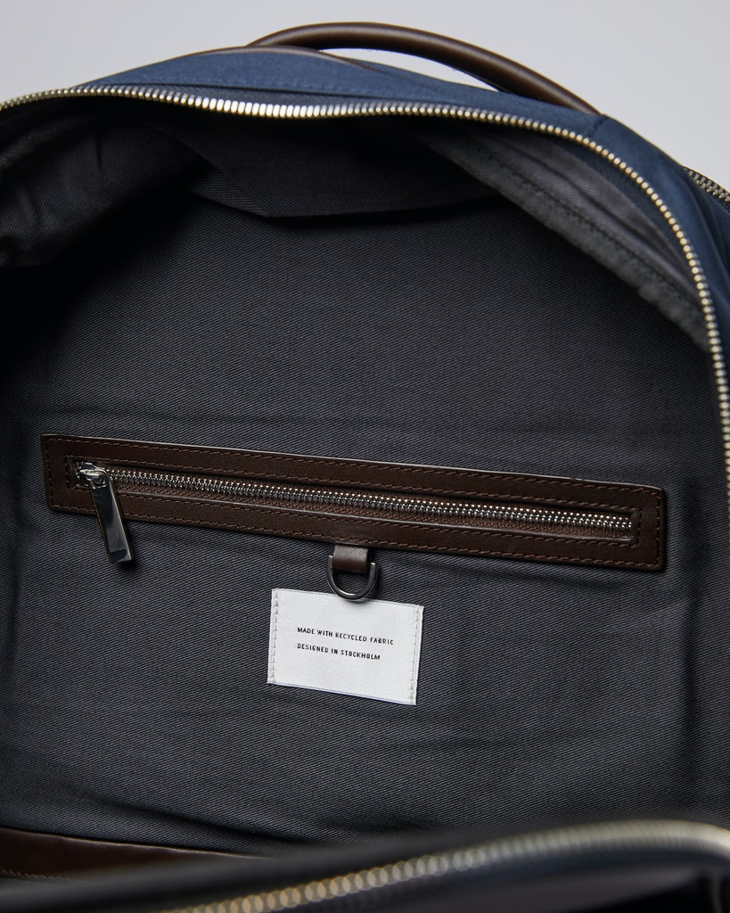 Sandqvist - Backpack - Navy - FOLKE 3