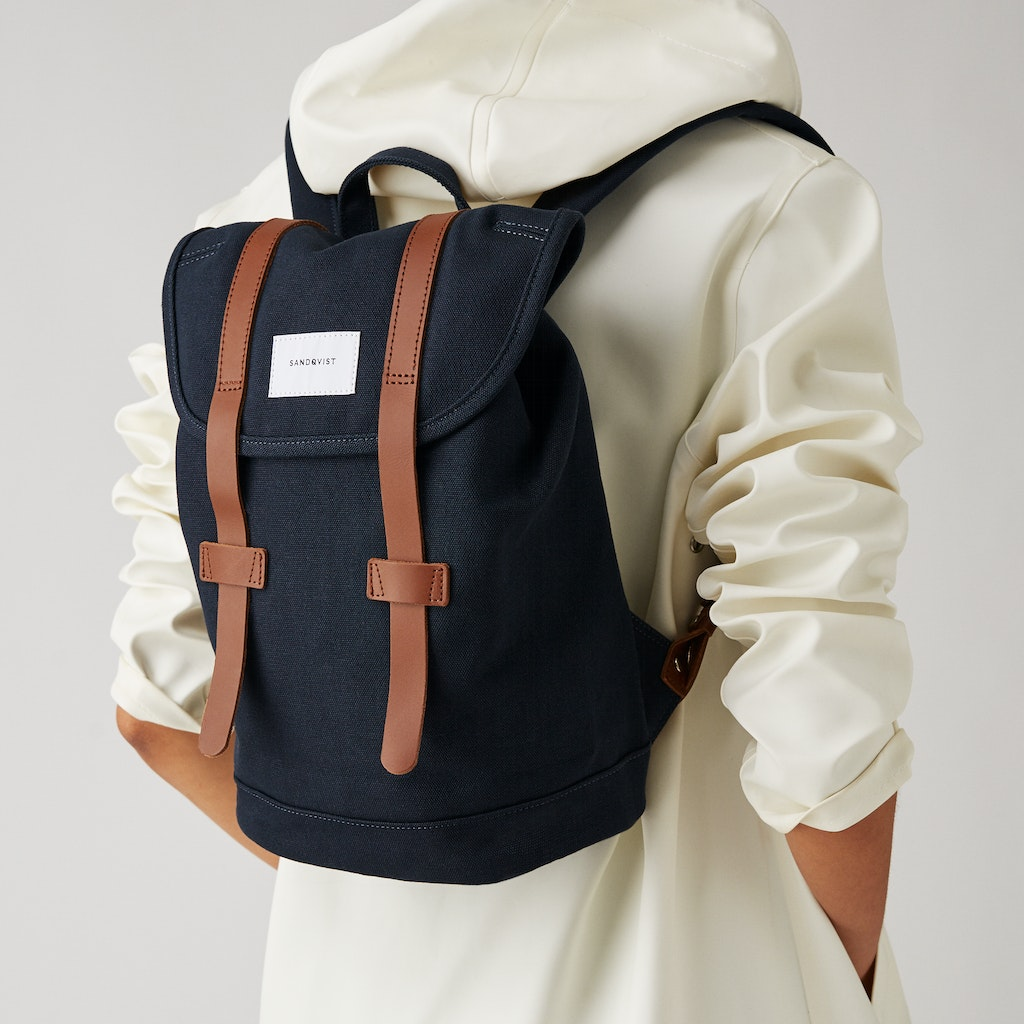 Sandqvist - Backpack - Blue - STIG SMALL 2