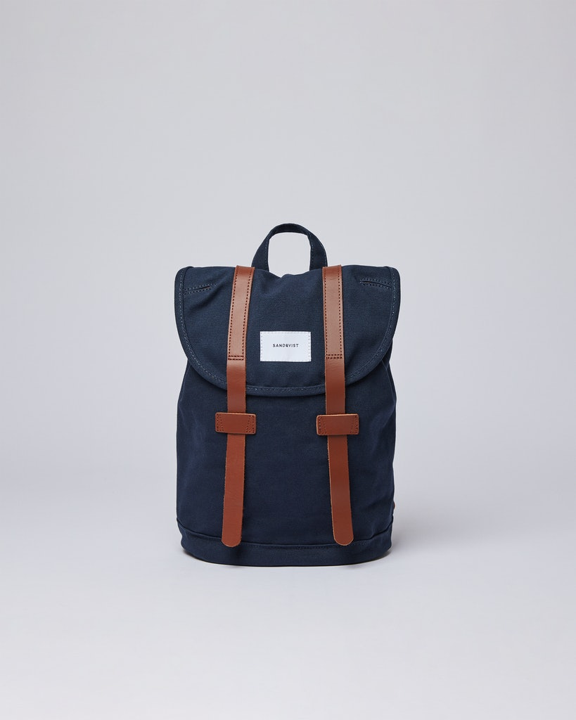 Sandqvist - Backpack - Blue - STIG SMALL