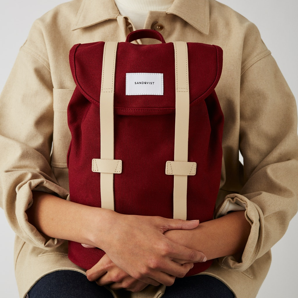 Sandqvist - Backpack - Red - STIG SMALL 2