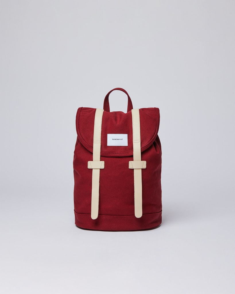 Sandqvist - Backpack - Red - STIG SMALL