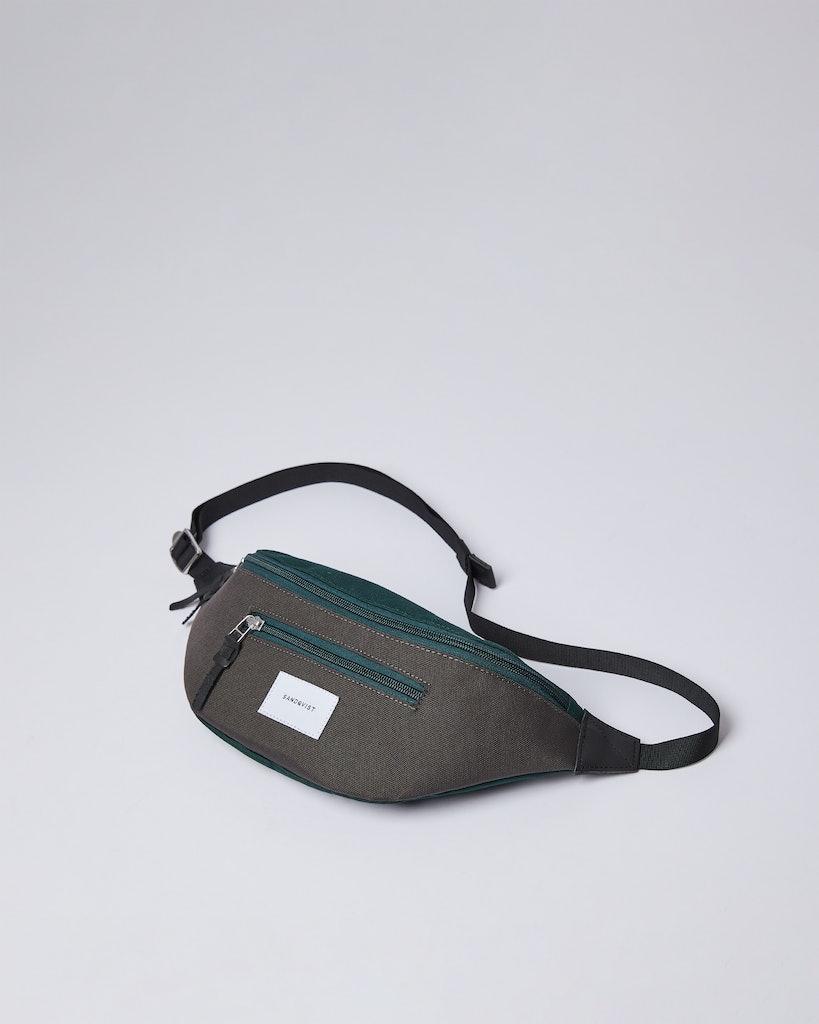 Sandqvist - Bum Bag - Green and Grey - ASTE