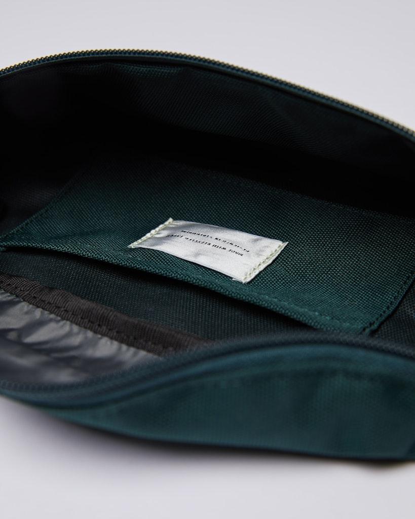 Sandqvist - Bum Bag - Green and Grey - ASTE 4