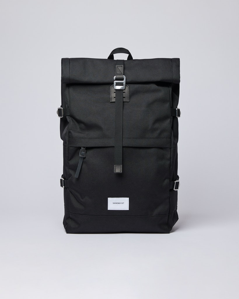 Sandqvist - Backpack - Black - BERNT