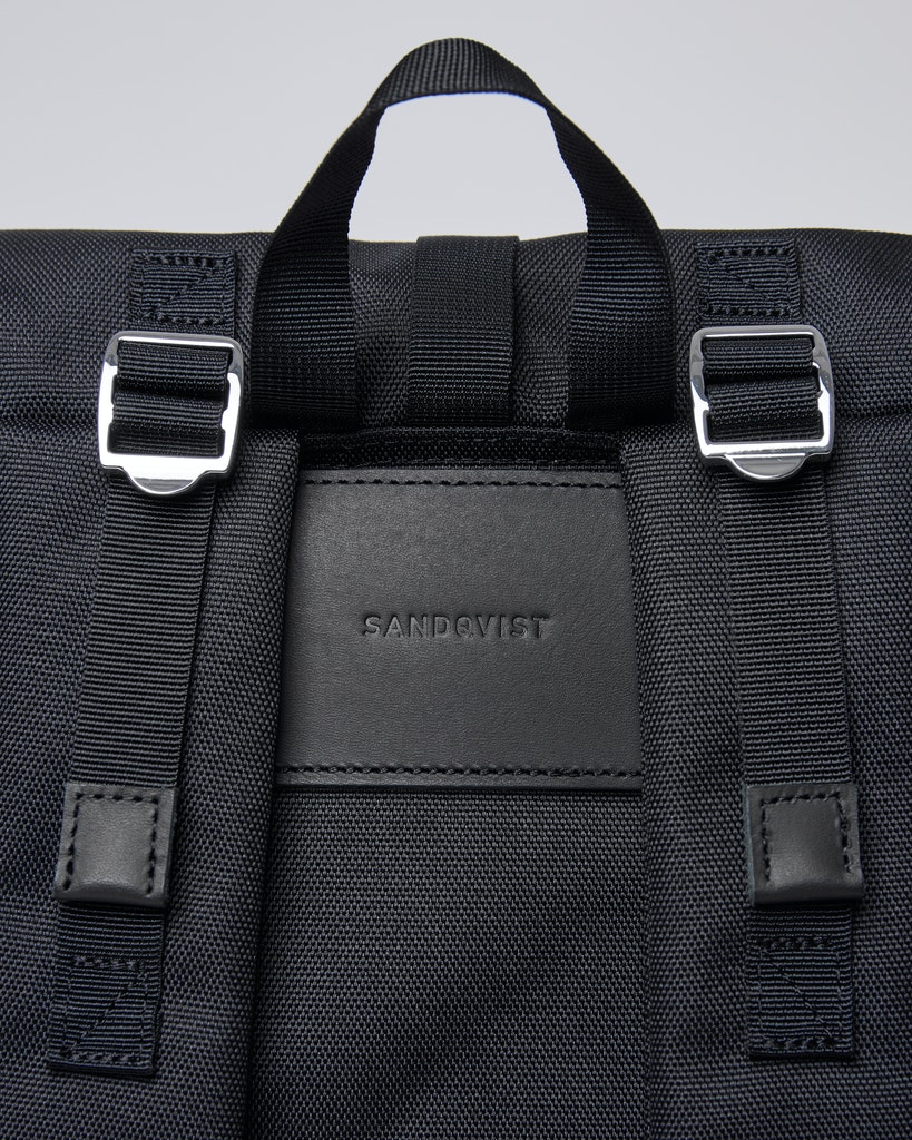 Sandqvist - Backpack - Black - BERNT 4