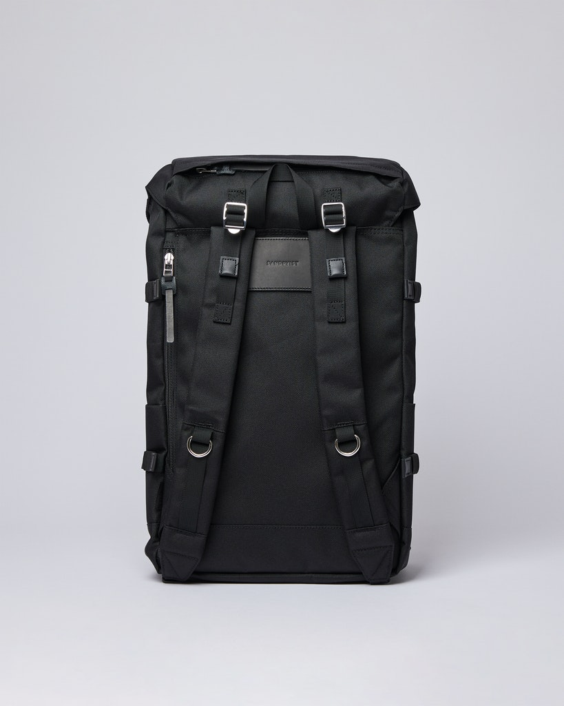 Sandqvist - Backpack - Black - HARALD 3