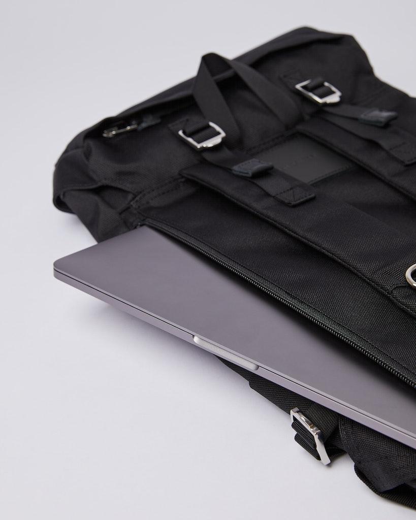Sandqvist - Backpack - Black - HARALD 5