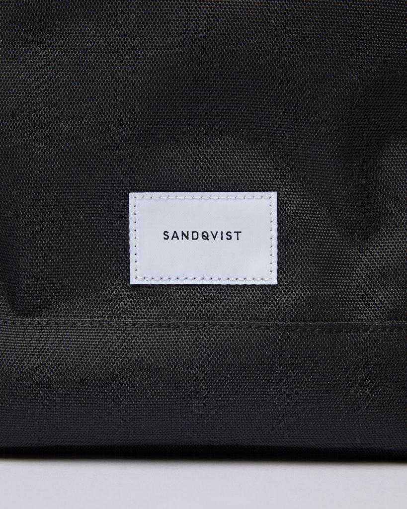 Sandqvist - Backpack - Black - HARALD 1