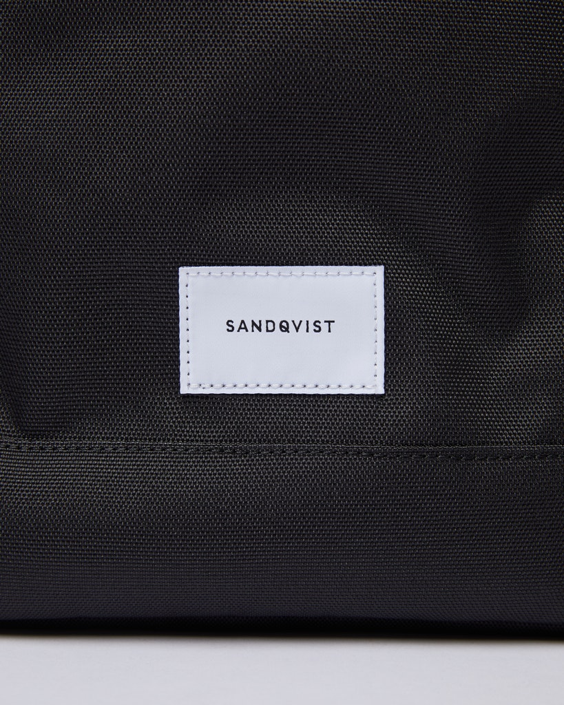 Sandqvist - Ryggsäck - Svart - HARALD 1