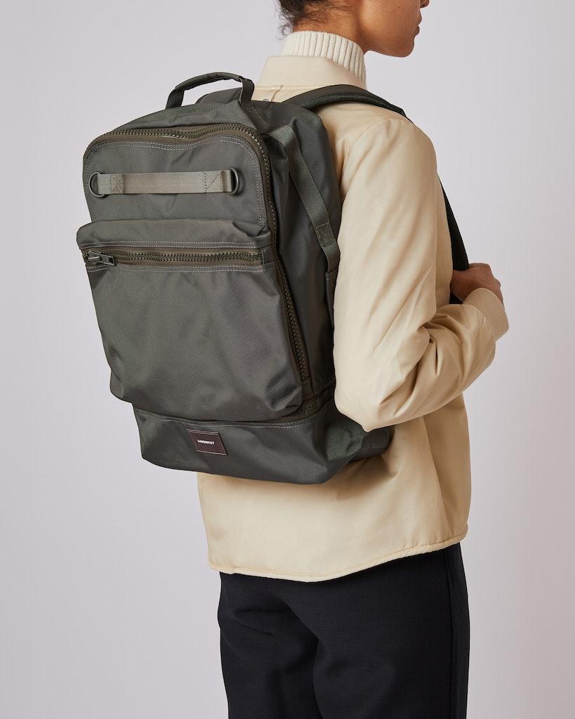 Sandqvist - Backpack - Green - ALGOT 2