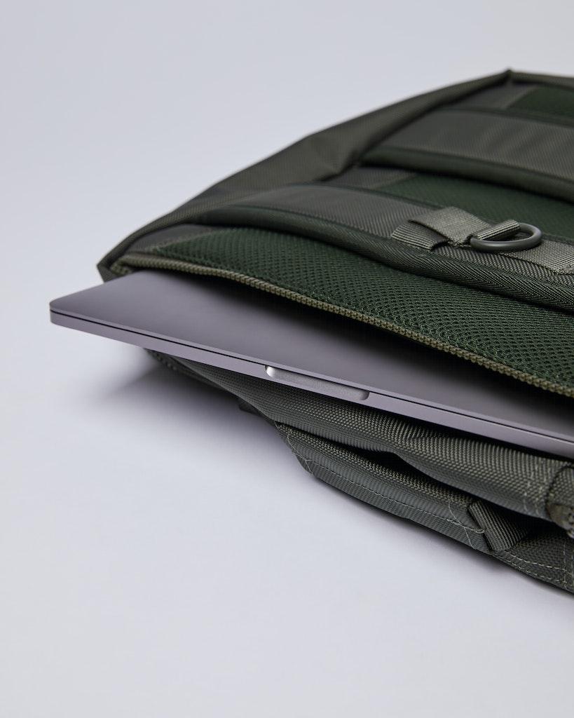 Sandqvist - Backpack - Green - ALGOT 5