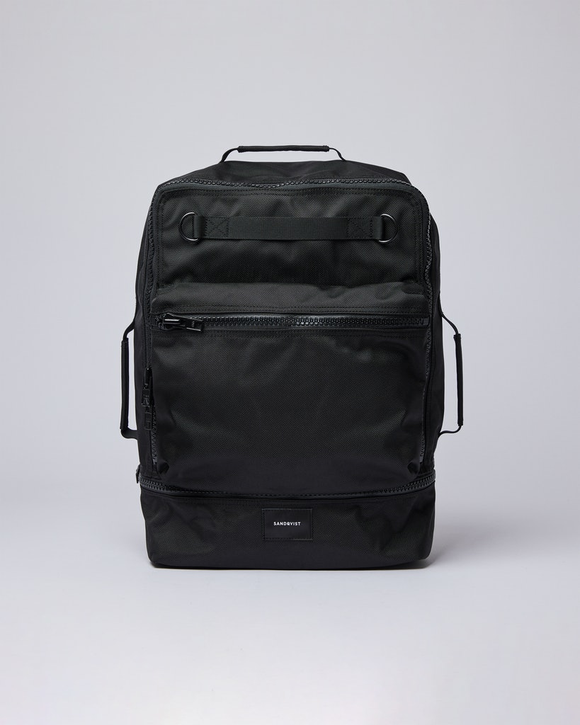 Sandqvist - Backpack - Black - ALGOT