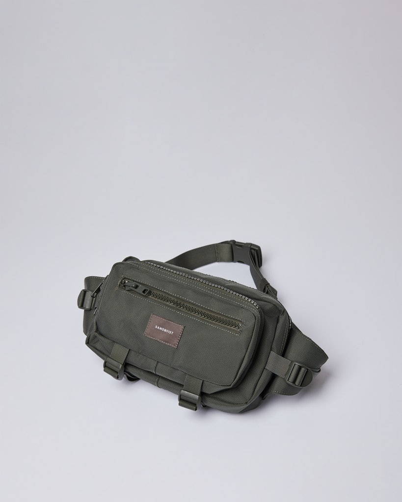 Sandqvist - Bum Bag - Green - FELIX