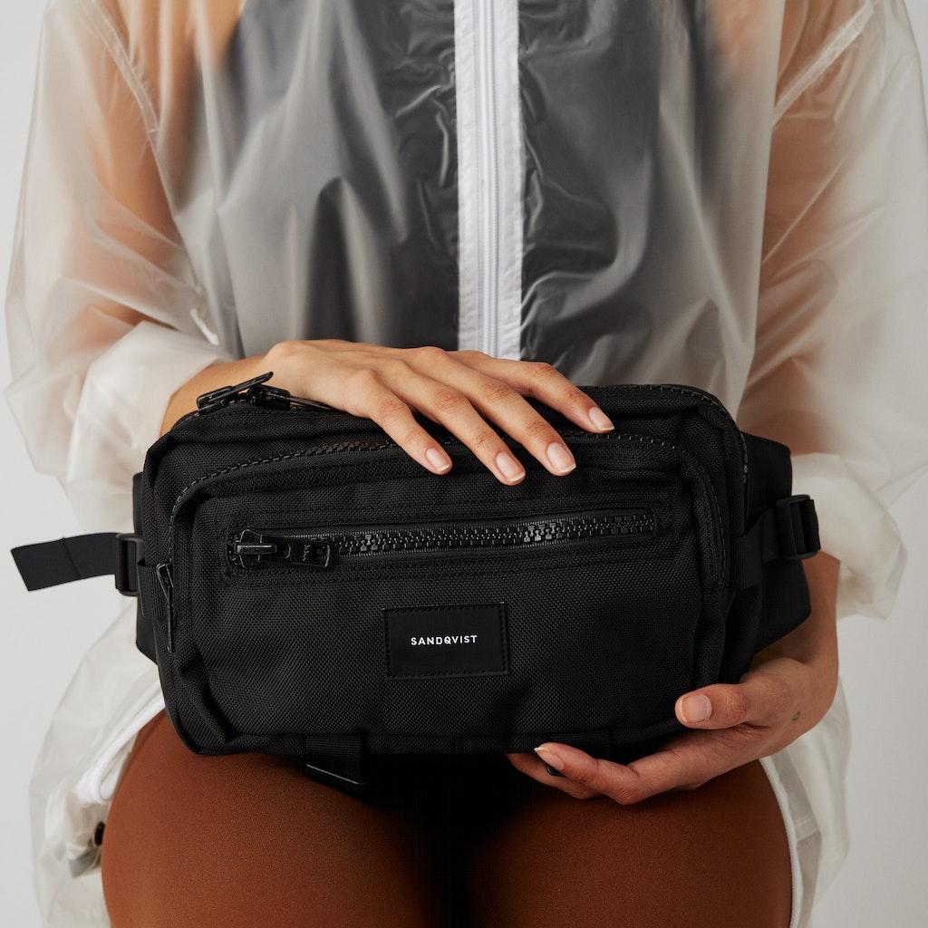 Sandqvist - Bum Bag - Black - FELIX 2