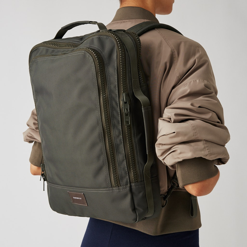 Sandqvist - Backpack - Green - TYRE 2
