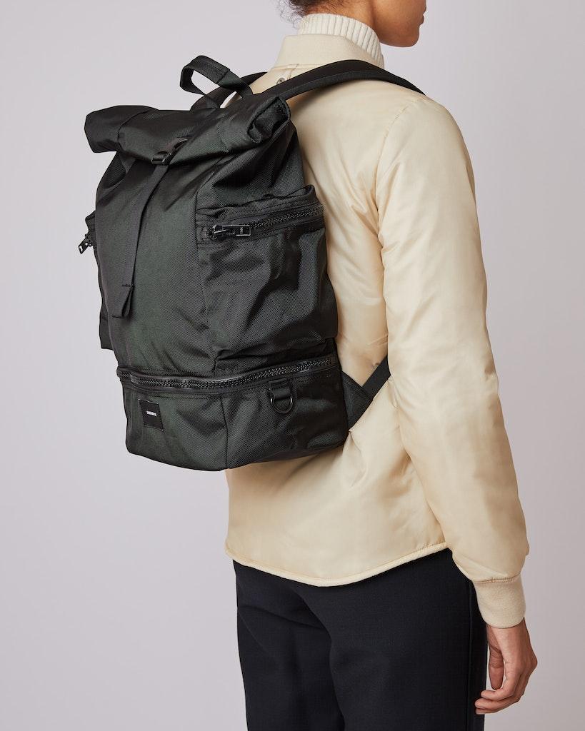 Sandqvist - Backpack - Black - VERNER 2