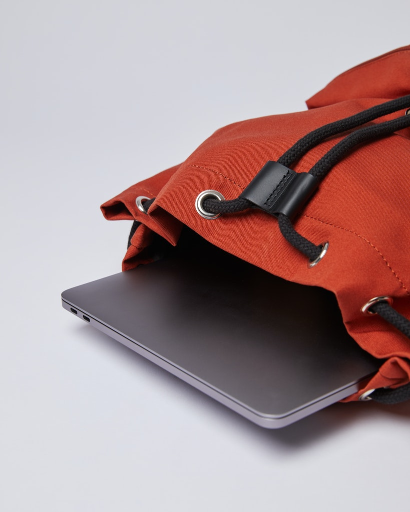Sandqvist - Backpack - Red - ROALD 5