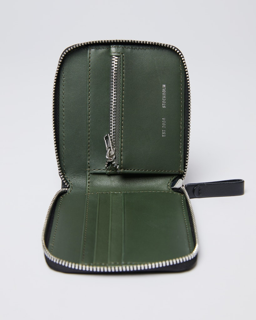 Sandqvist - Wallet - Green Black - TYKO 1