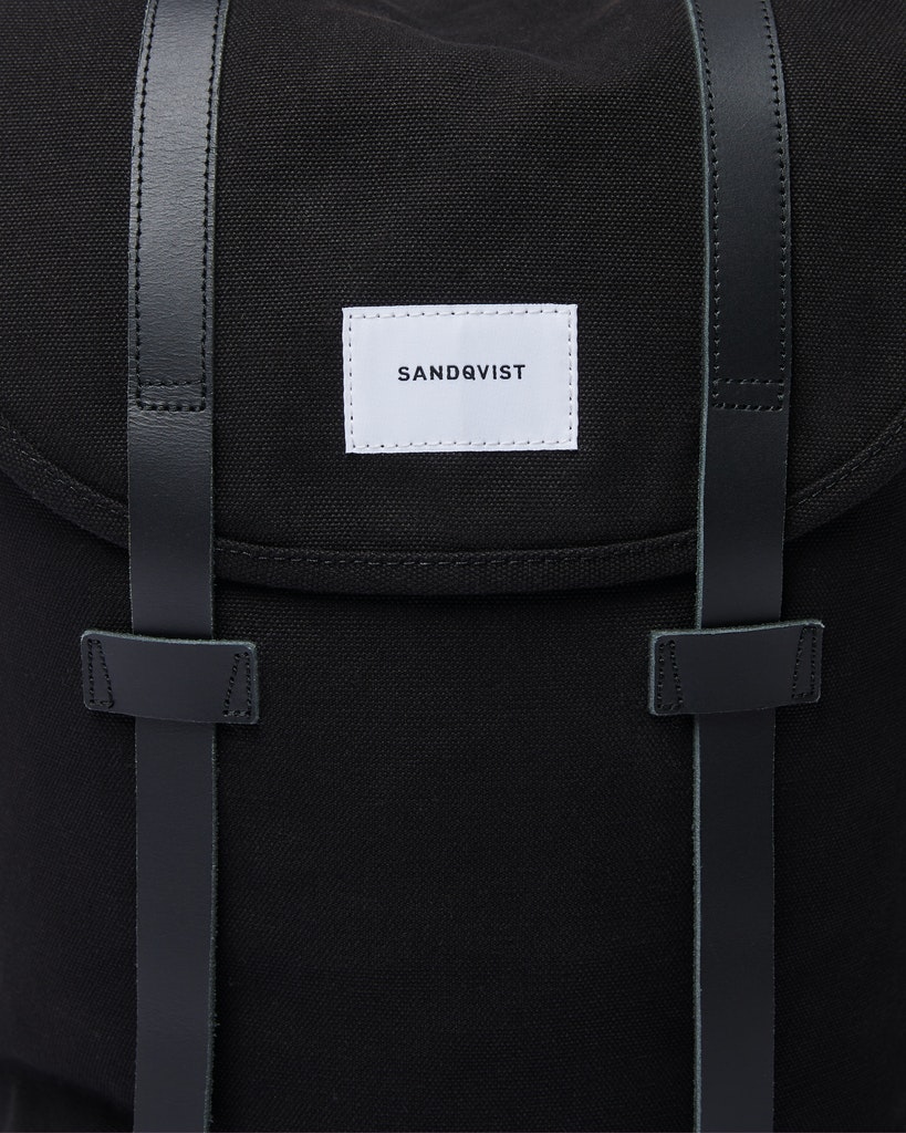 Sandqvist - Backpack - Black - STIG 2