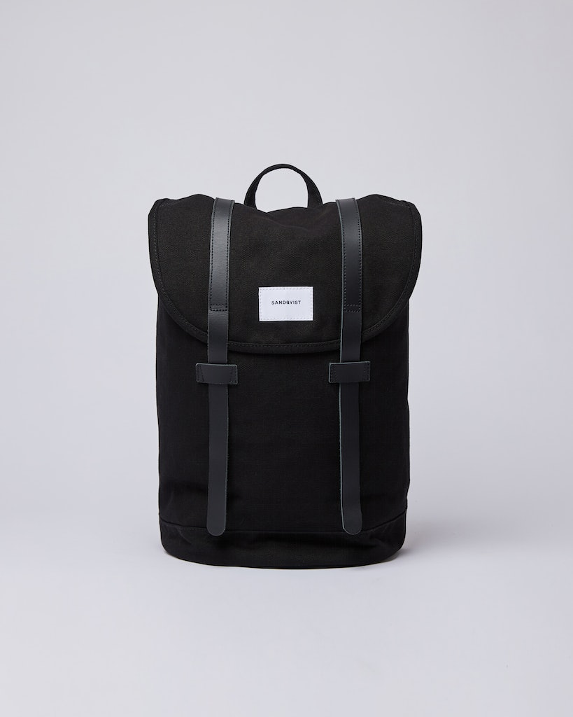 Sandqvist - Backpack - Black - STIG