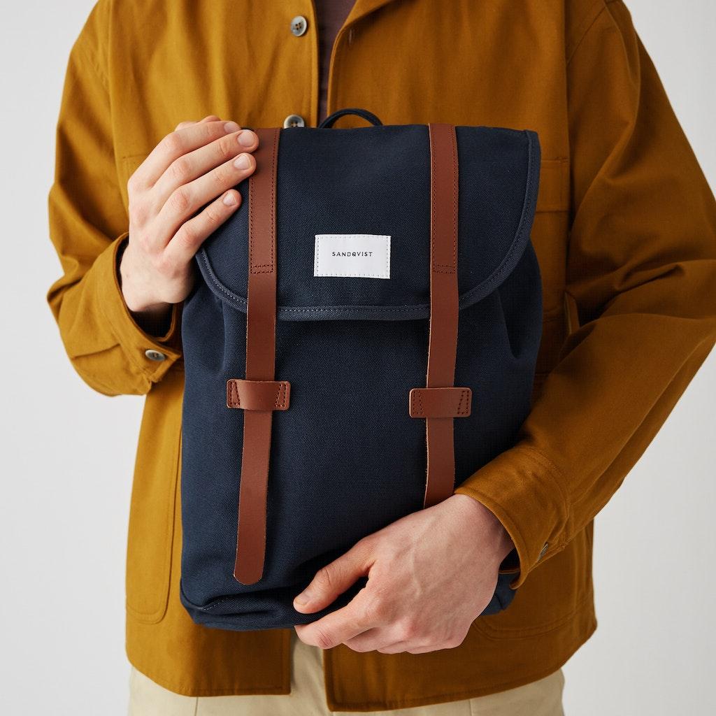 Sandqvist - Backpack - Blue - STIG 2