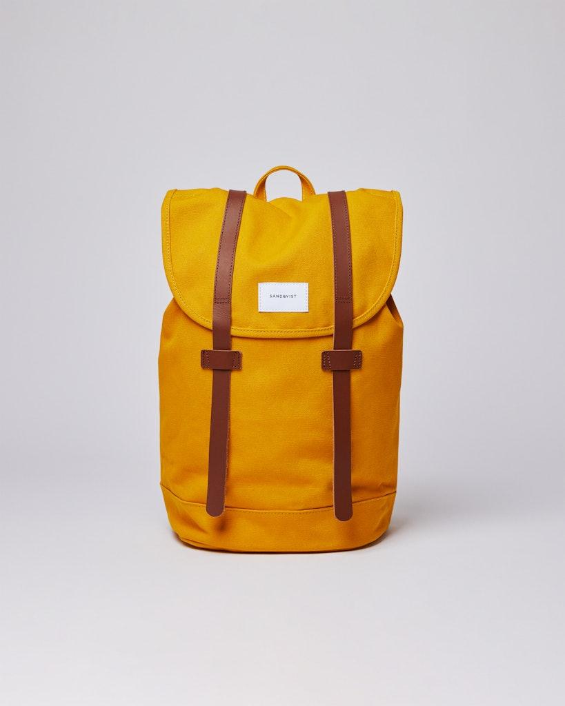 Sandqvist - Backpack - Yellow - STIG