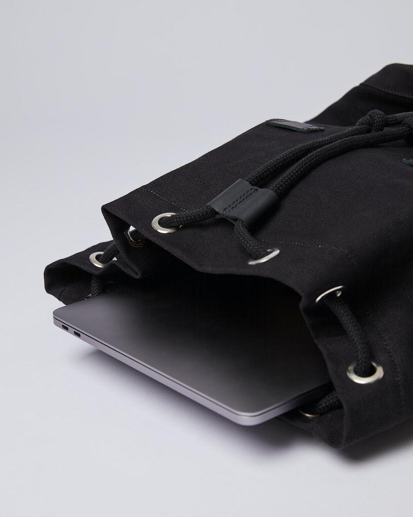 Sandqvist - Backpack - Black - STIG LARGE 4