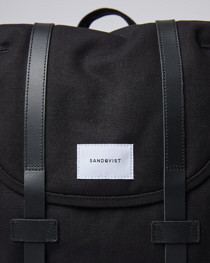 Sandqvist - Backpack - Black - STIG LARGE 1