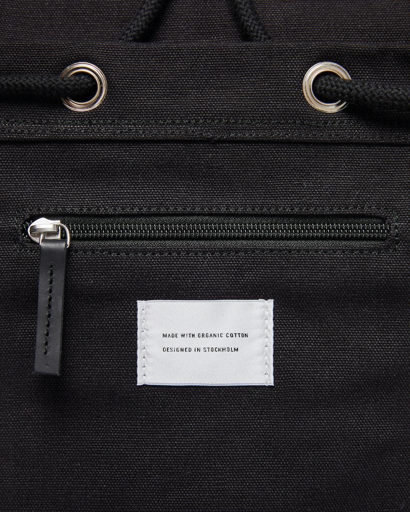 Sandqvist - Backpack - Black - STIG LARGE 6