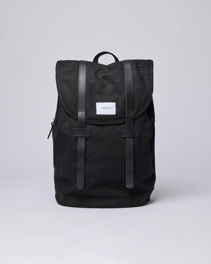 Sandqvist - Backpack - Black - STIG LARGE