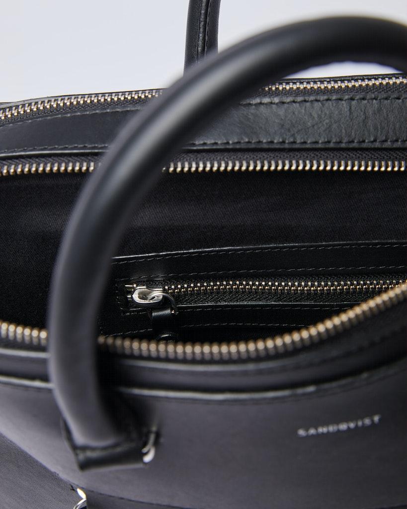 Sandqvist - Briefcase - Black - LESLI 4
