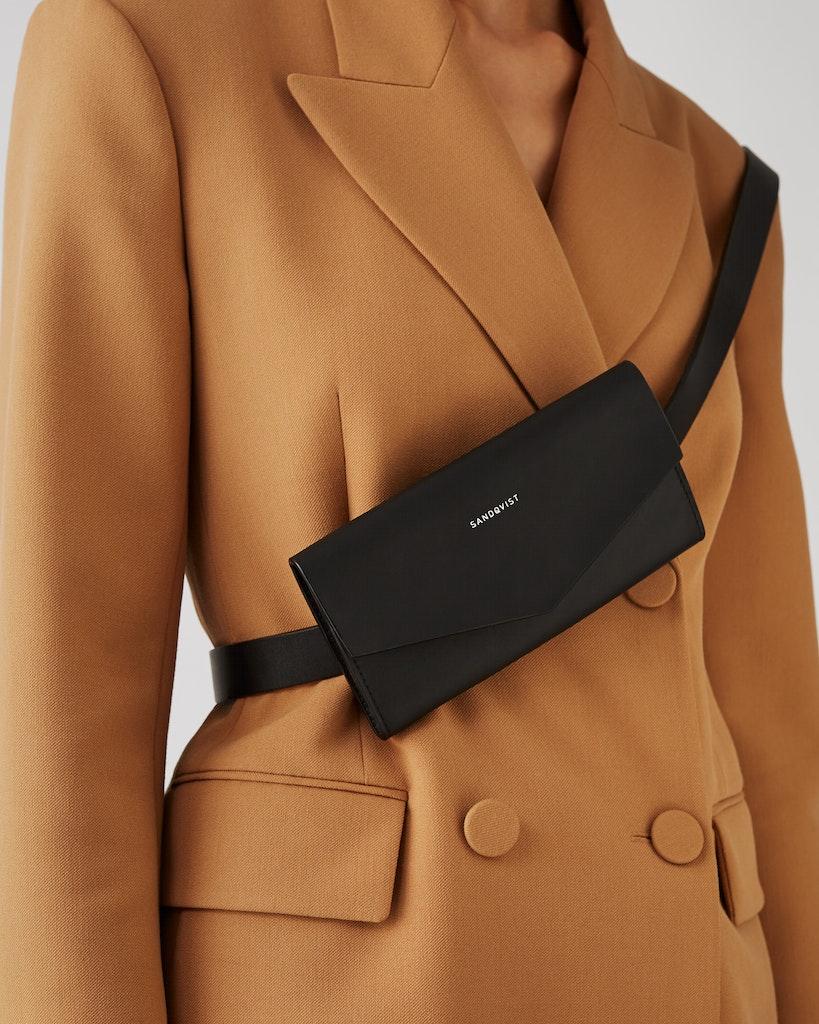 Sandqvist - Shoulder Bag - Black - FLORENS 4
