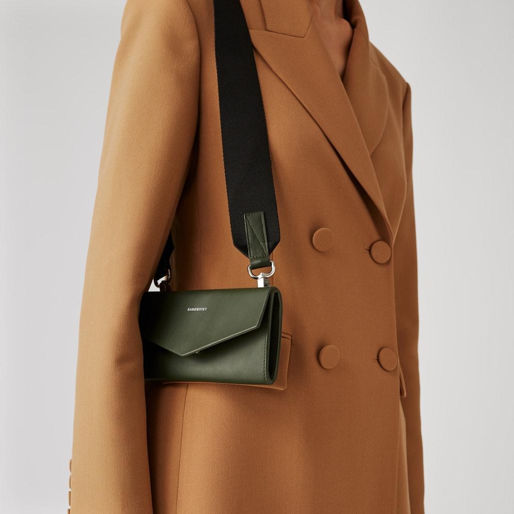 Sandqvist Florens - Contemporary leather tote bag 4