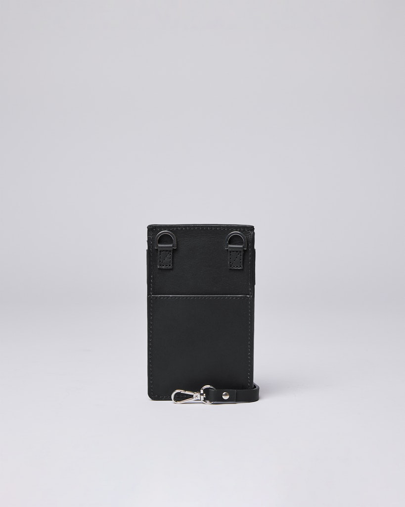 Sandqvist - Phone pouch - Black - NOEL 3