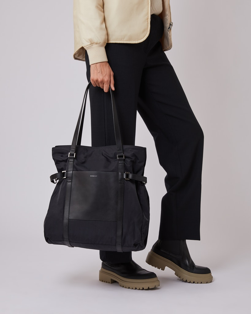Sandqvist - Tote Bag - Black - THEA 2