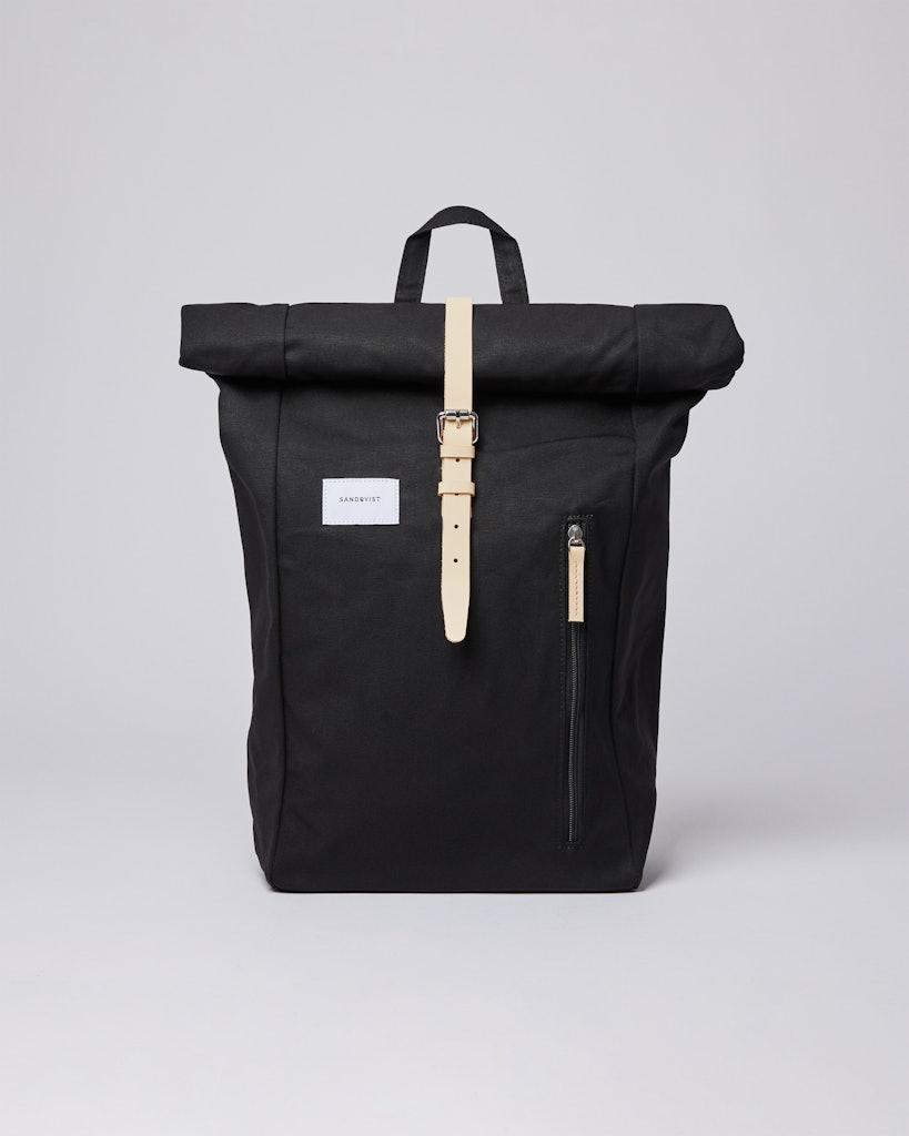 Sandqvist - Backpack - Beige and Black - DANTE